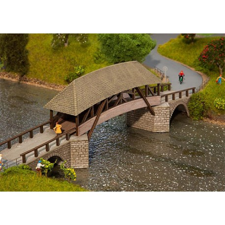 ** Faller 120494 Old Timber Bridge Kit II