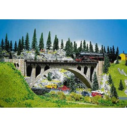 ** Faller 120533 Stone Arch Bridge 355mm Kit I