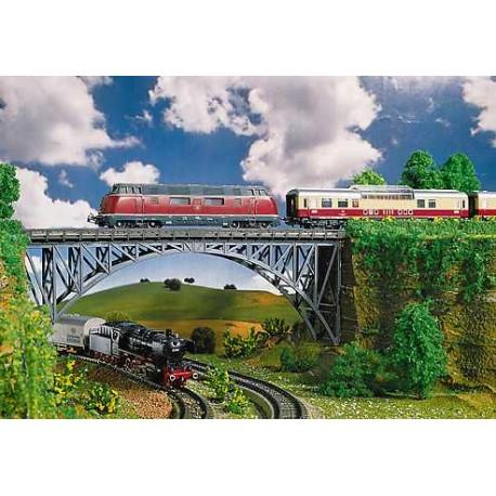 ** Faller 120541 Deck Arch Bridge 355mm Kit II