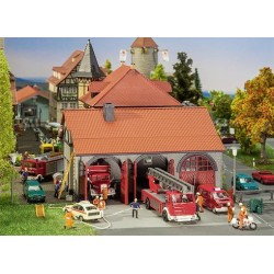 ** Faller 130162 Fire Brigade Engine House Kit II