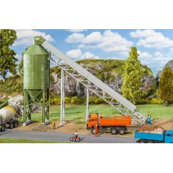 ** Faller 130174 Silo with Conveyer Kit III