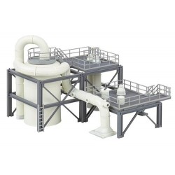 ** Faller 130179 Chemical Plant Equipment/Pipework Kit