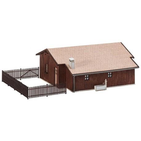 ** Faller 130181 Workmans Barracks Kit II