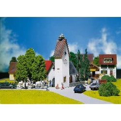 ** Faller 130236 Village Church with Storks Nest Kit II