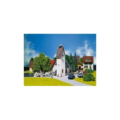 ** Faller 130236 Village Church with Storks Nest Kit II