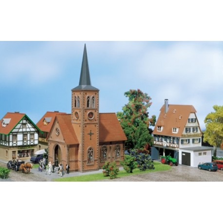 ** Faller 130239 Small Town Church Kit II