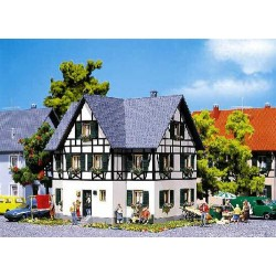 ** Faller 130259 Half Timbered Two Family House Kit III