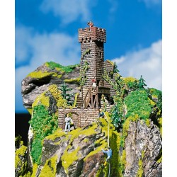 ** Faller 130285 Castle Tower Ruins Kit I