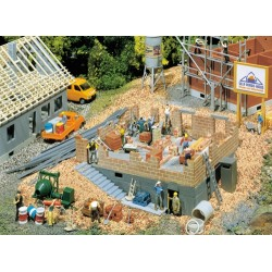 ** Faller 130307 House Under Construction Kit IV