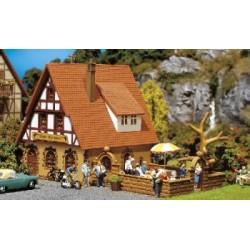 ** Faller 130314 Zur Krone Inn with Beer Garden Kit III