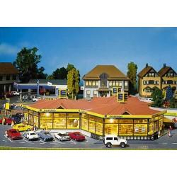 ** Faller 130342 Edeka Local Mini Market Kit IV