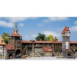 ** Faller 130401 Old Town Wall Set Kit I