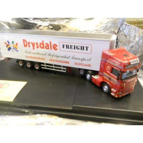 ** Oxford Diecast SCA04FR Scania R Series Topline Fridge Drysdale Freight