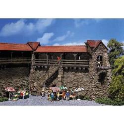 ** Faller 130403 Old Town Peel Towers (2) Kit I