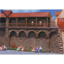 ** Faller 130404 Old Town Wall Kit I