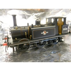 ** Dapol 7S-010-011D Terrier A1X BR Lined Black Late Crest 32636 DCC-Sound