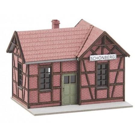 ** Faller 212150 Schonberg Station Halt Kit II