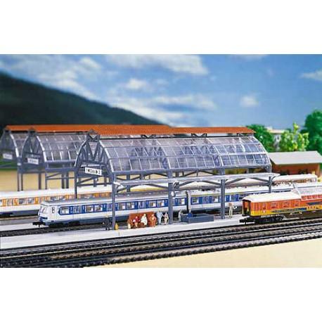 ** Faller 222128 Overall Station Roof Kit II