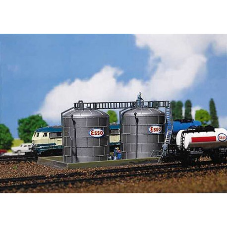 ** Faller 222131 Oil Storage Tanks Kit III