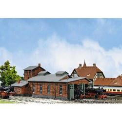 ** Faller 222136 Two Road Engine Shed Kit II