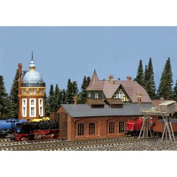 ** Faller 222141 Single Road Engine Shed Kit I