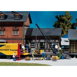 ** Faller 222176 Loading Crane with Freight Kit I