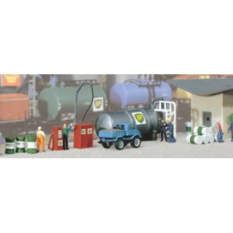 ** Faller 222194 Oil Tank Kit III