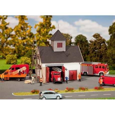 ** Faller 222208 Country Style Fire Station Kit III