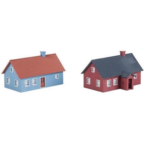 ** Faller 222349 Holiday Homes Kit (2) I