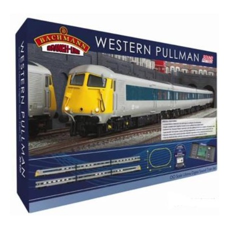 ** Bachmann 30-420 Western Pullman Ultima Digital Sound Fitted 00 Scale Train Set
