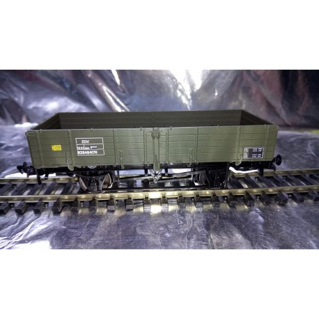 ** Bachmann Branchline 38-702 12 Ton Pipe Wagon BR Engineers Olive Green