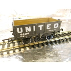 **  Oxford Rail OR76MW4006 4 Plank Wagon - United Collieries 5439