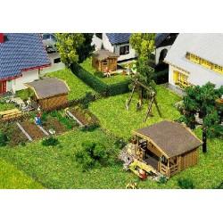 ** Faller 232209 Summerhouses (3) Kit IV