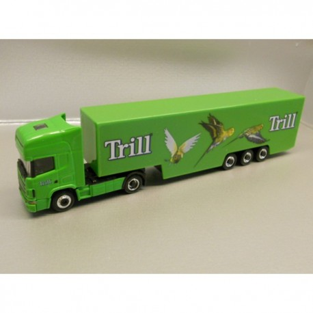 "** Herpa 451246 Scania TL Box Semitrailer ""Trill"" ""MAGIC"""