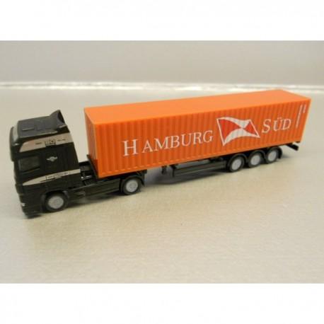 "** Herpa 066440 DAF XF SSC Container Semitrailer ""Hamburg Süd"""