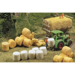 ** Faller 272562 Silo and Straw Bales (32) Kit IV