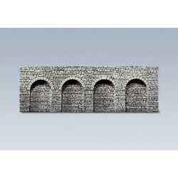 ** Faller 272600 Natural Stone Ashlars Round Arches Decorative Sheet