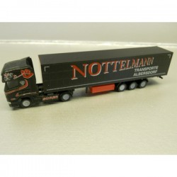 ** Herpa 066105 Scania R 04 TL Curtain Canvas Semitrailer Nottelmann