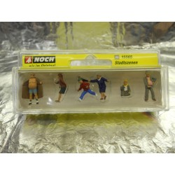 ** Noch 15565 City Scenes (6) Figure Set