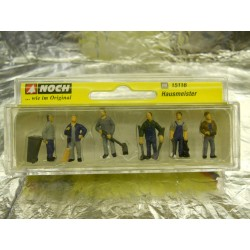 ** Noch 15116  Caretakers (6) Figure Set