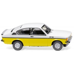 ** Wiking 022902 Opel Kadett C Coupe GT/E White/Yellow