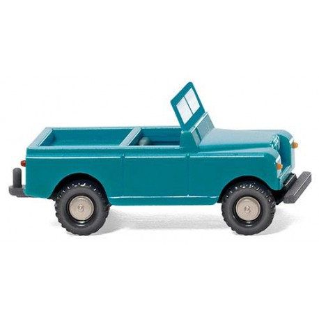 ** Wiking 092301 Land Rover Turquoise/Cream
