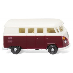 ** Wiking 093202 VW T1 Bus Wine Red/White
