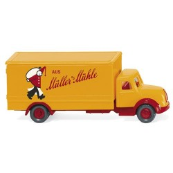 ** Wiking 094905 Magirus Box Truck Mullers Muhle
