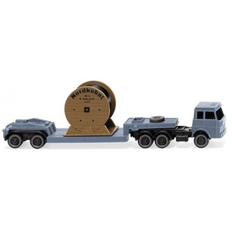 ** Wiking 094939 Hanomag Henschel Low Loader Truck/Trailer Nordkabel