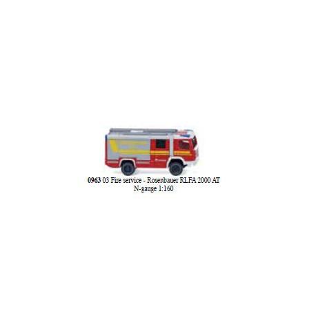 ** Wiking 096303 Rosenbauer RLFA 2000 AT Fire Engine