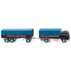 ** Wiking 041602 MAN Pausbacke Flatbed Truck & Trailer