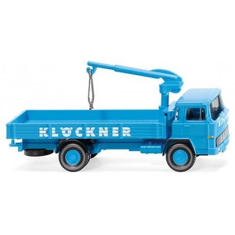 ** Wiking 042301 Magirus 100 D7 Flatbed Lorry Klockner