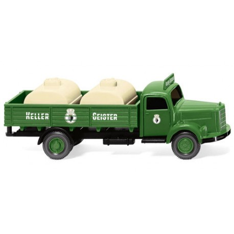 ** Wiking 043020 MB L3500 Standby Tanker Keller Geister