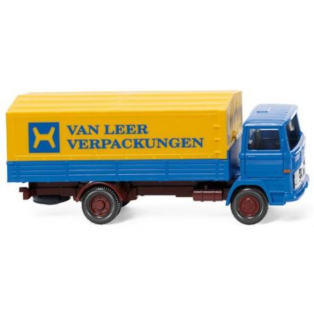 ** Wiking 043701 MB 1317 Van Leer Flatbed Lorry